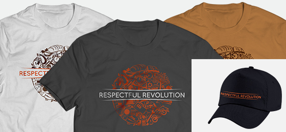 Revolutionary level membership T-shirt and hat